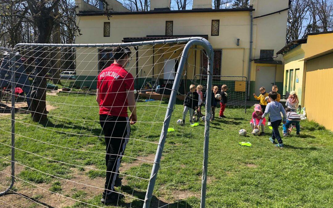 piłkarskie przedszkole trening